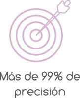 PRECISION MAS DEL 99%